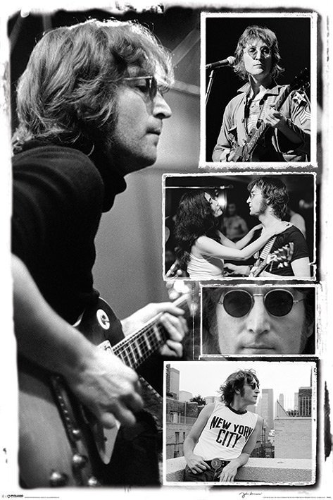 John Lennon Collage Bob Gruen Poster Sold At Abposters Com