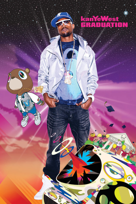 kanye west poster sold at europosters