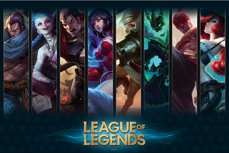 League of Legends - Champions Poster   All posters in one place   3+1 FREE