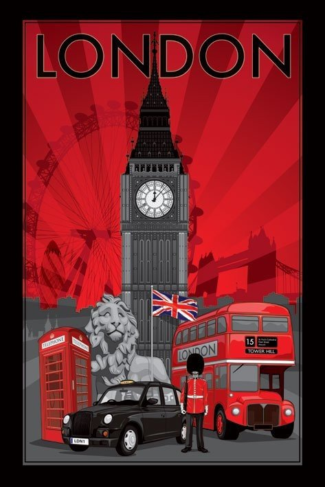 London Decoscape Poster | Sold at Abposters.com