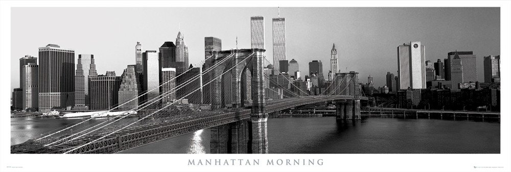 manhattan morning poster sold at europosters. Black Bedroom Furniture Sets. Home Design Ideas