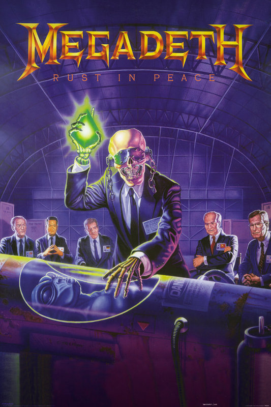 Megadeth Rust In Peace Poster Sold At Ukposters