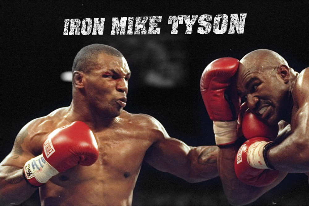 Mike Tyson Poster Sold At Europosters