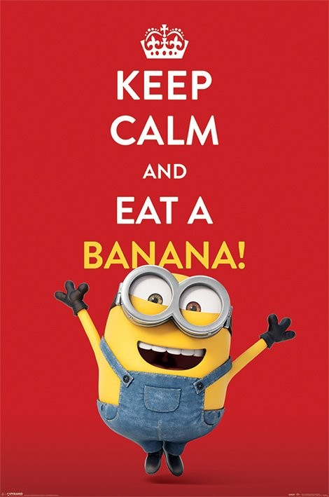 minions keep calm poster sold at. Black Bedroom Furniture Sets. Home Design Ideas