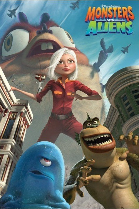 MONSTERS vs. ALIENS - ...