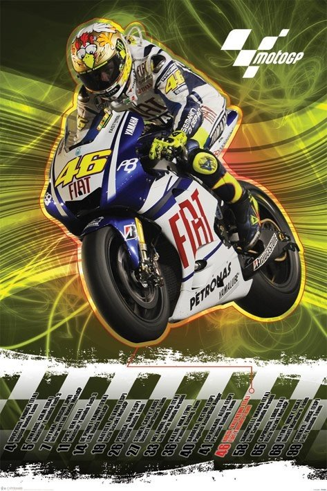 Moto GP - valentino rossi Poster | Sold at Europosters