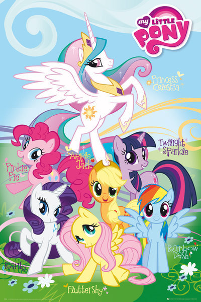 My Little Pony Names Poster Sold At Abposters Com