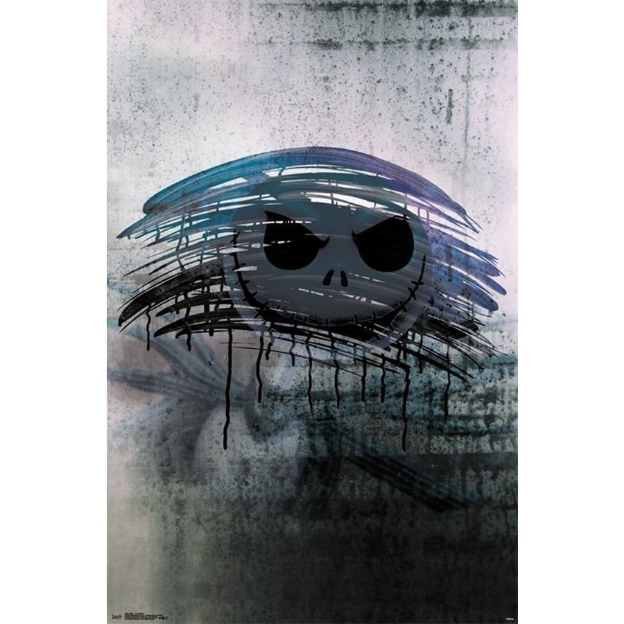 Nightmare Before Christmas - Jack Mirror Poster | Sold at Abposters.com