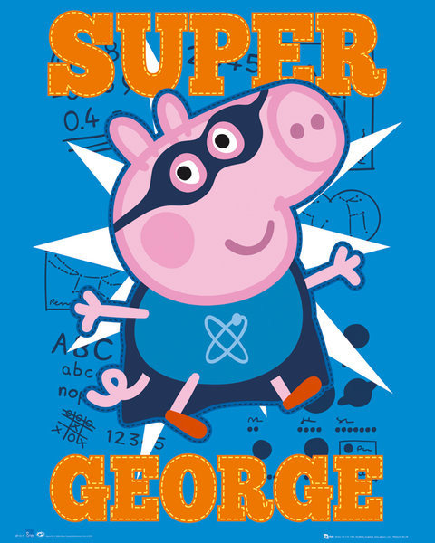 Peppa Pig Super George Poster Sold At Europosters
