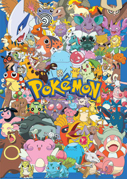 Pokemon Character Explosion Poster Sold At Europosters