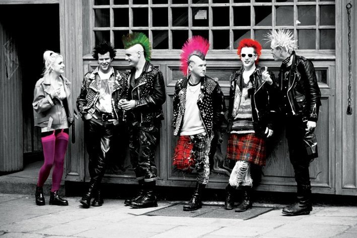 punk colours poster sold at europosters