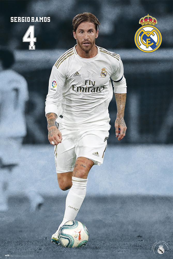 """Sergio Ramos 2020 Celebration"" Canvas Print by syed-athar ... |Sergio Ramos 2020 Drawing"