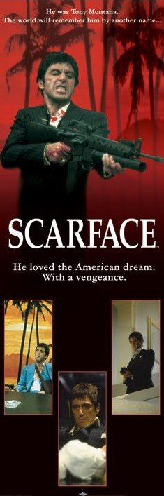 scarface american dream essay Read scarface movie review free essay and over 88,000 other research documents scarface movie review scarface this their goal is to live the american dream.