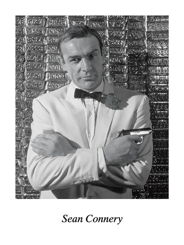 Sean connery art print buy at europosters for Sean connery tattoos