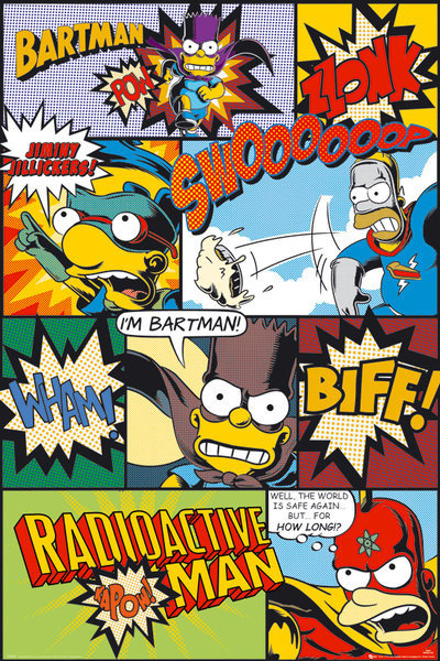 Simpsons Comic Poster Sold At Abposters Com