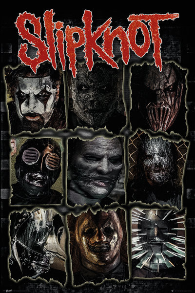 Slipknot Faces Poster Sold At Abposters Com