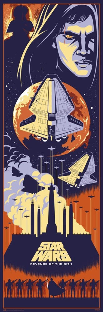 Star Wars Episode Iii Revenge Of The Sith Poster Sold At Europosters