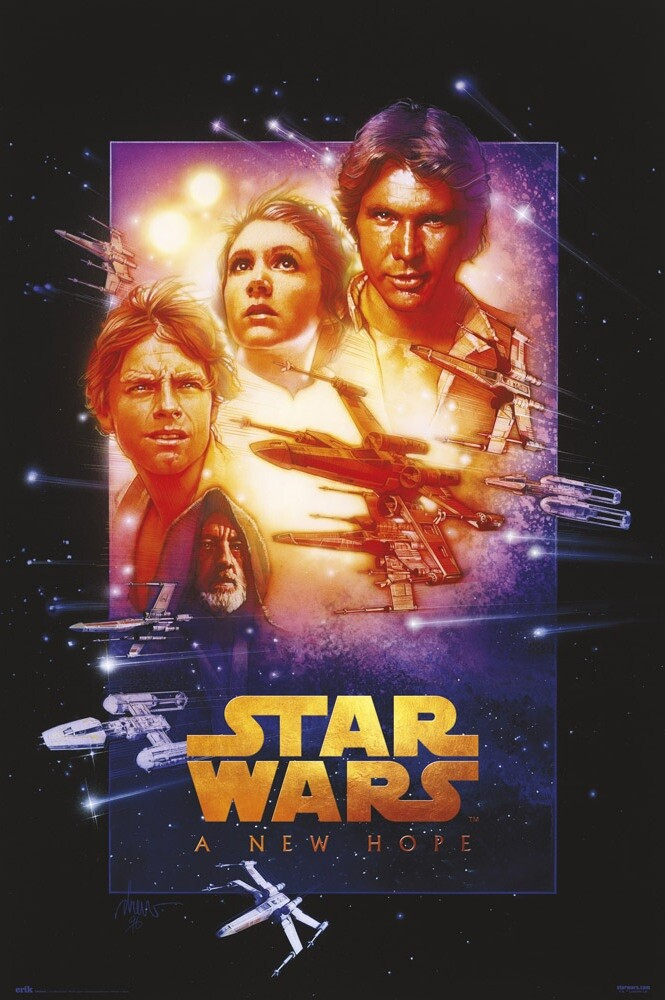 Star Wars Episode Iv A New Hope Poster Sold At Abposters Com