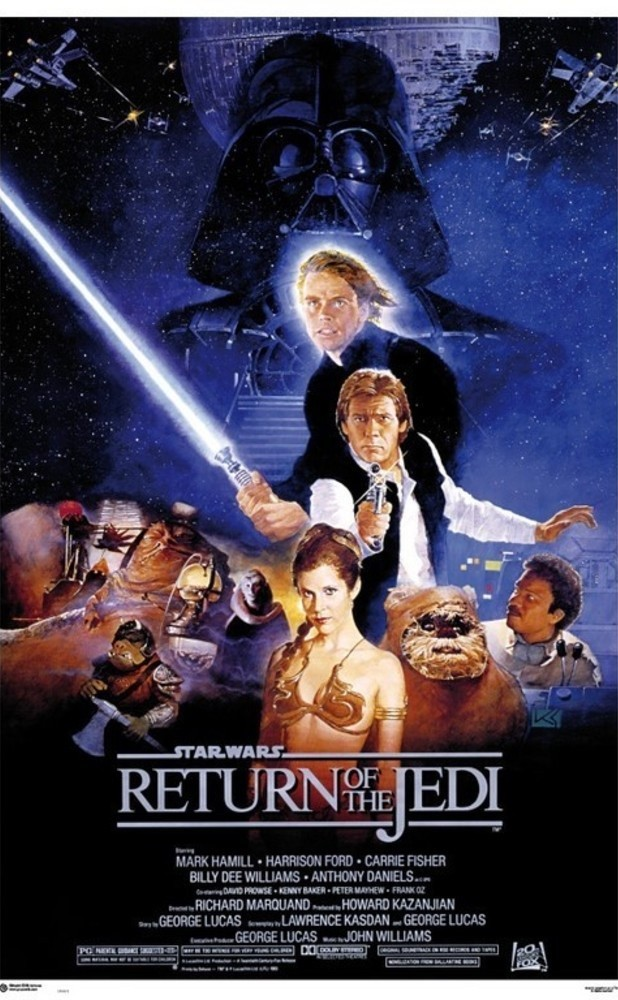 Star Wars Poster Return of the Jedi Style B 61 x 91,5 cm Wandbild Filmposter