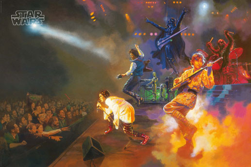 Star Wars Rock Band Poster Sold At Europosters
