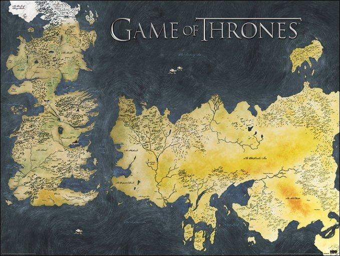 guerra dos tronos mapa Poster, Quadro The Game Of Thrones   A Guerra dos Tronos mapa  guerra dos tronos mapa