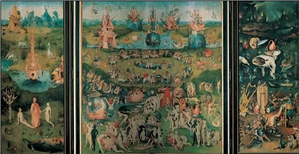 The Garden Of Earthly Delights 1503 04 Art Print Buy At