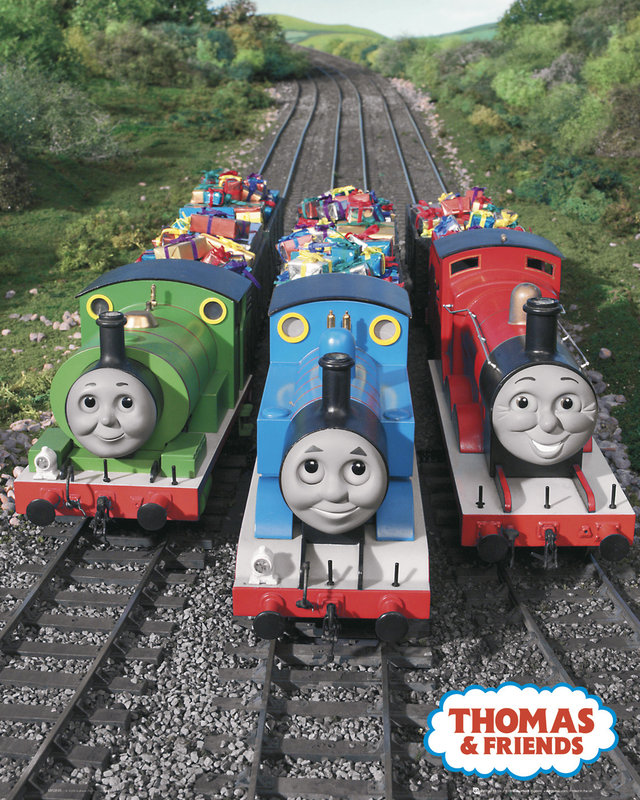 Thomas And Friends Trio Poster Sold At Europosters Train