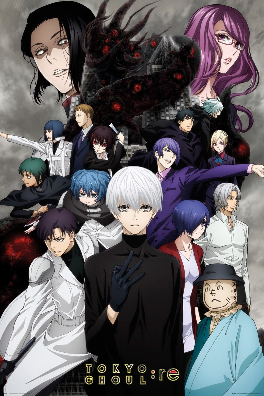 Tokyo Ghoul Re Key Art 3 Poster All Posters In One Place 3 1 Free