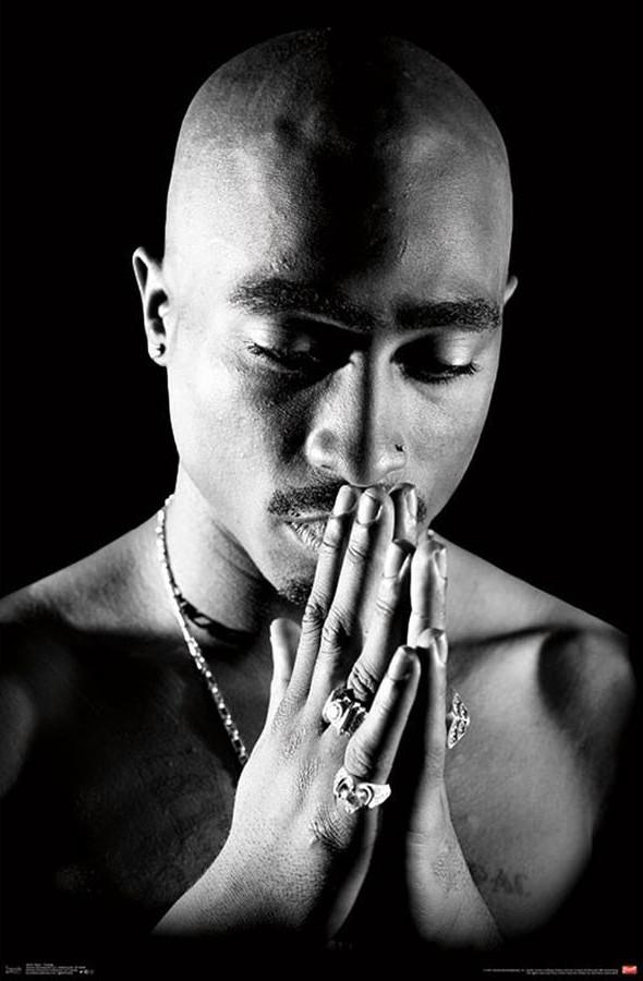 Tupac Praying Poster Sold At Europosters