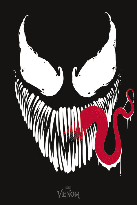 Venom Face Poster Sold At Europosters