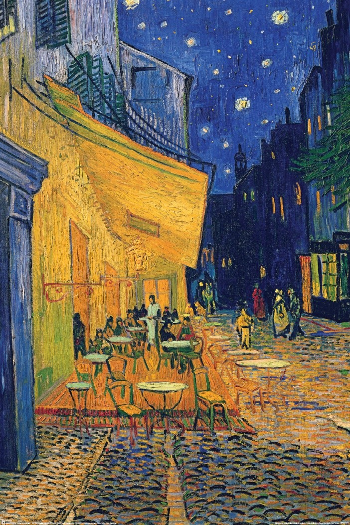 Vincent Van Gogh Caf 233 Terrace Poster Sold At Europosters