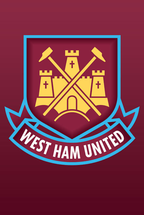 West Ham United Logo Poster Sold At Abposters Com