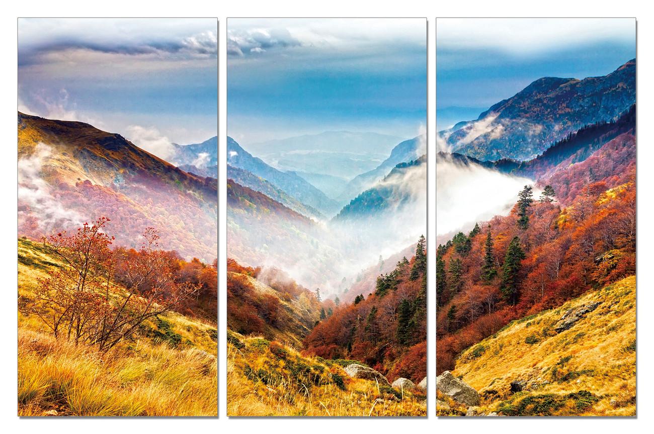 Colorful Landscape Mounted Art Print