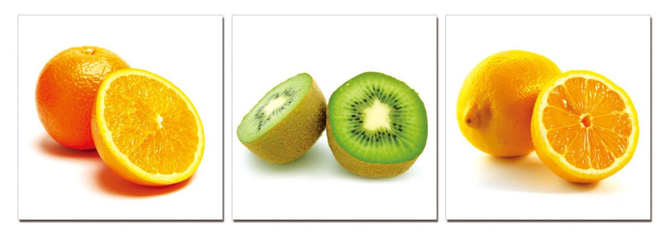 Fruit - Citrus Fruits Mounted Art Print