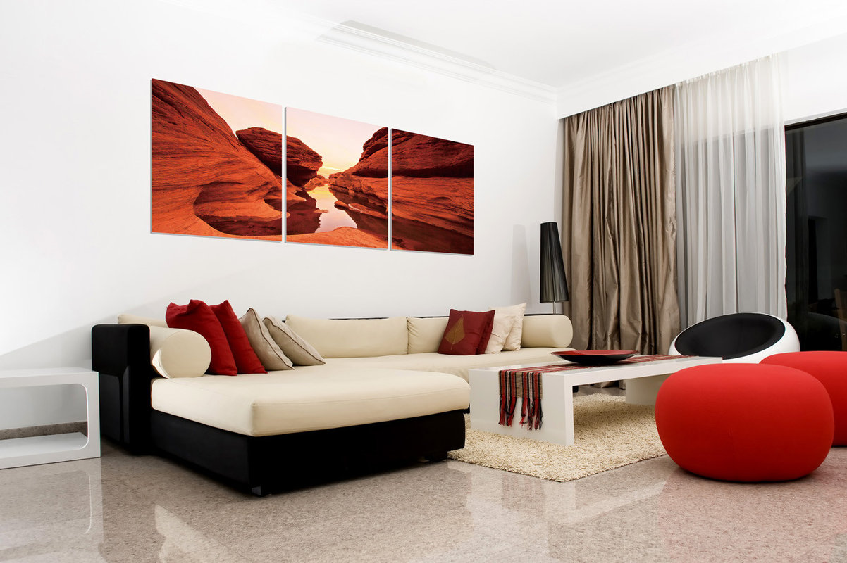 Red Rock Mounted Art Print