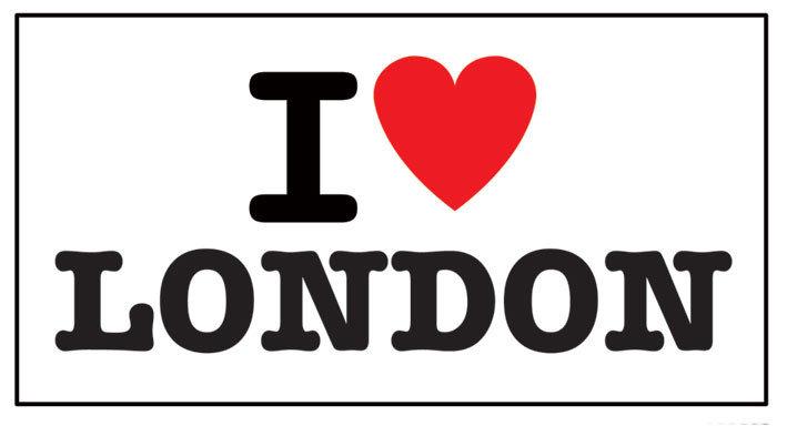 adesivo CUORE LONDRA I LOVE LONDON J/'AIME LONDRES   sticker aufkleber pegatina