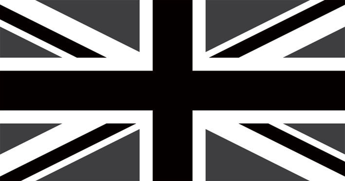 Union Jack Dark Sticker Sold At Abposters Com
