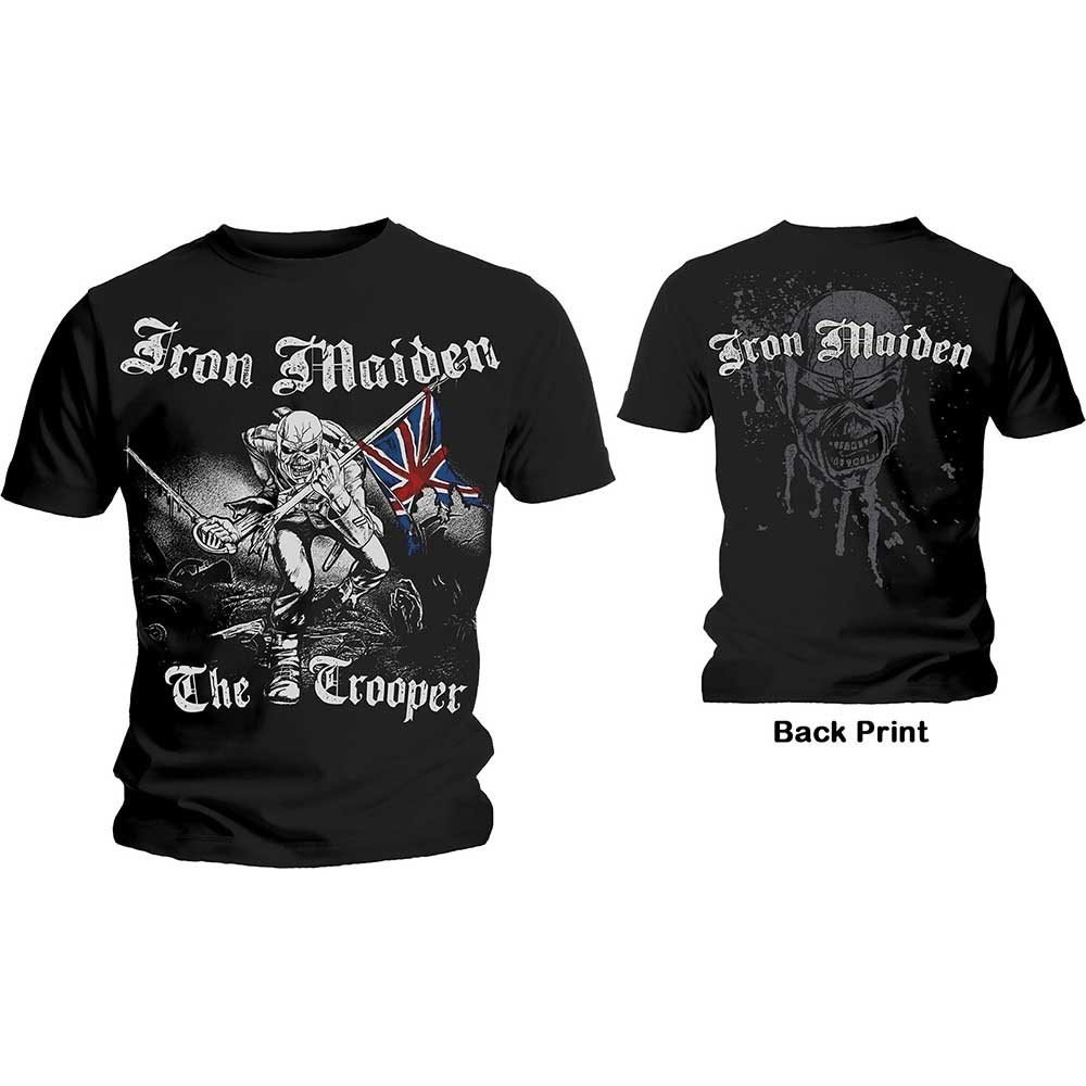 2fca4d367 Iron Maiden - The Trooper - T-Shirts at Europosters