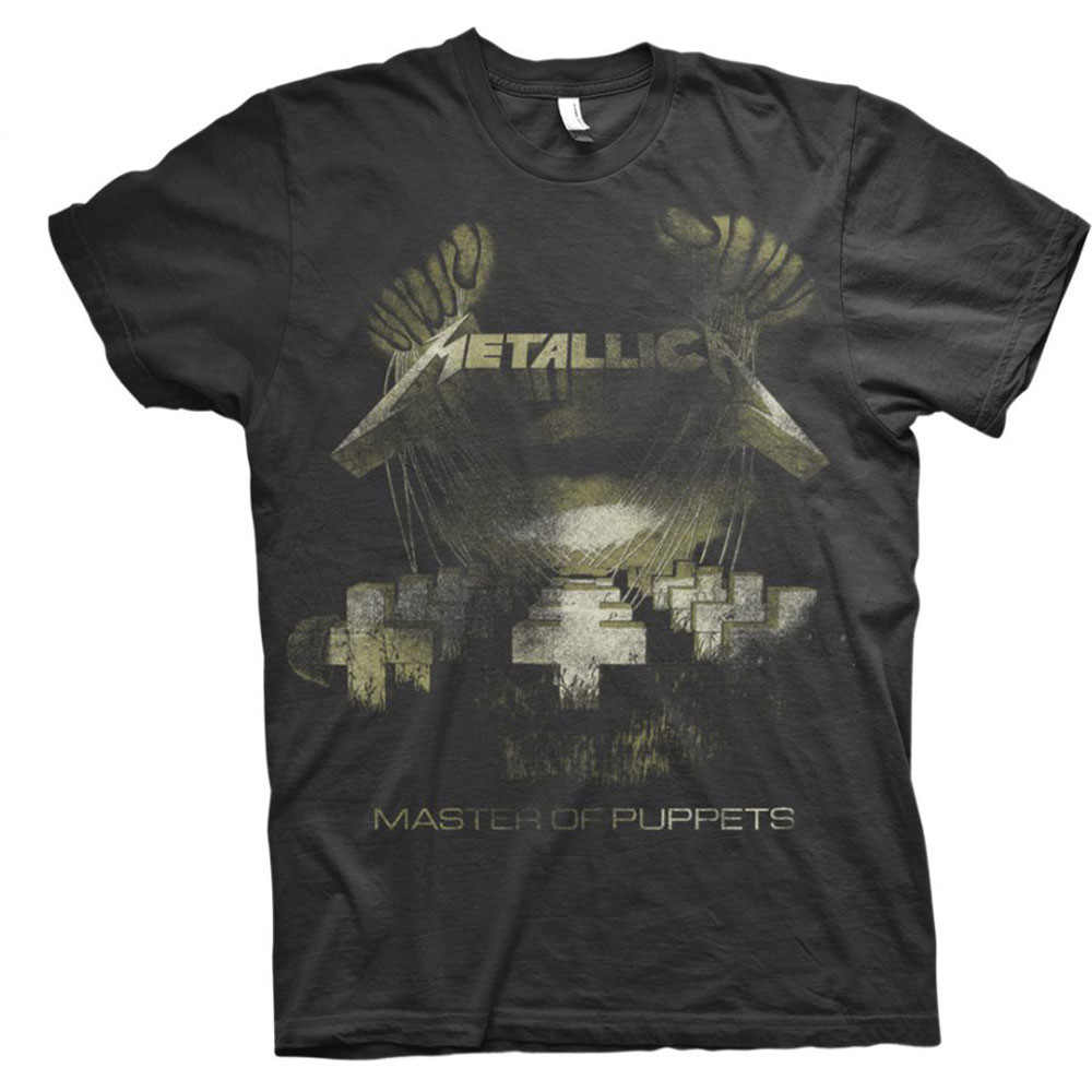 Metallica Master Of Puppets T Shirts At Europosters