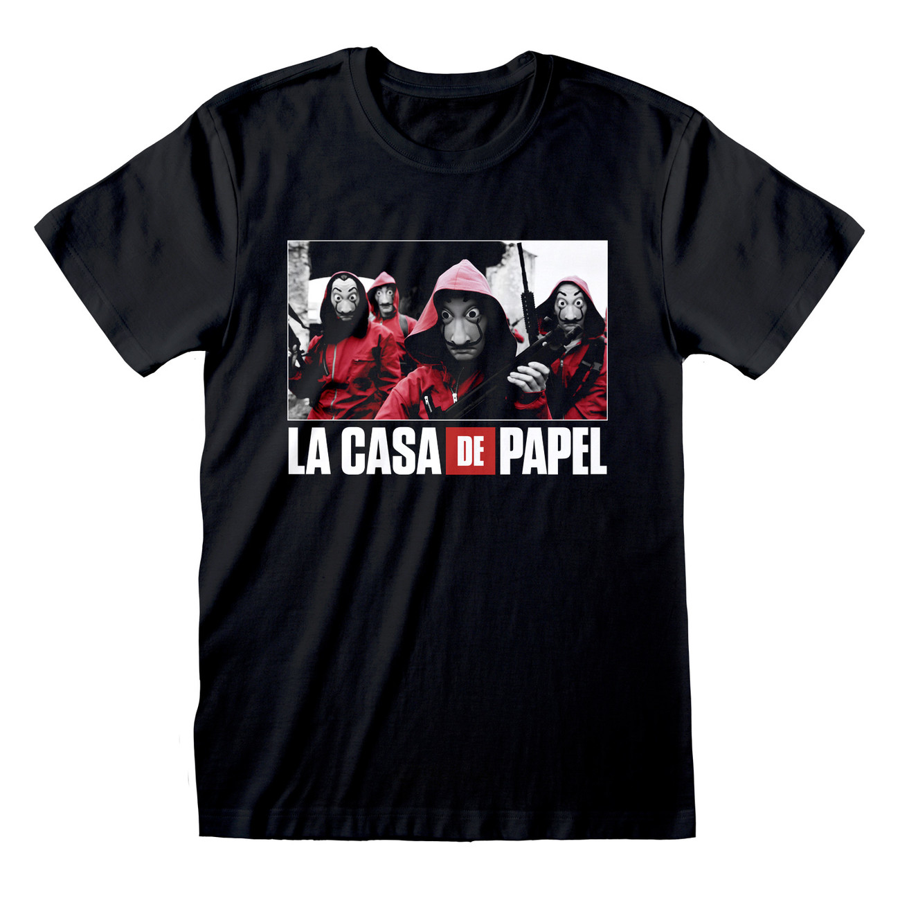 Money Heist La Casa De Papel Photo And Logo T Shirts At Ukposters