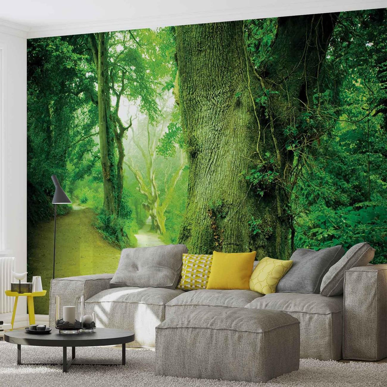 Poster Mural Nature : for t nature arbres poster mural papier peint acheter le sur ~ Teatrodelosmanantiales.com Idées de Décoration