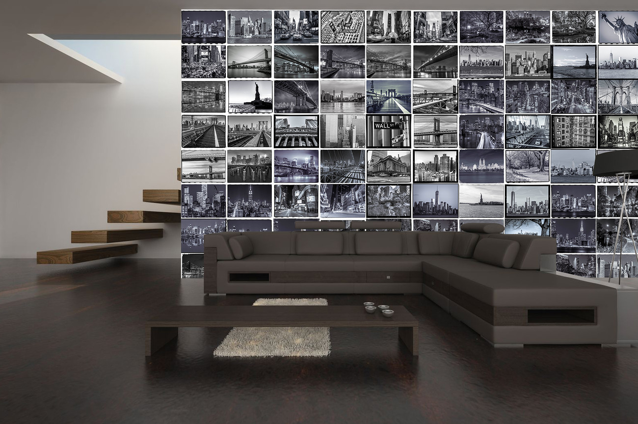 new york poster mural papier peint acheter le sur. Black Bedroom Furniture Sets. Home Design Ideas