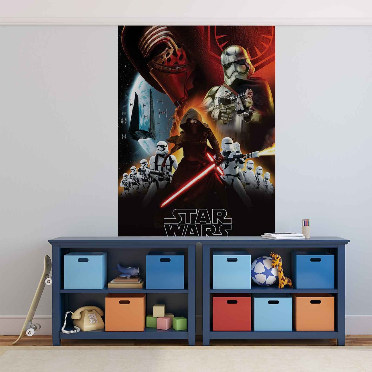 star wars stormtroopers poster mural papier peint. Black Bedroom Furniture Sets. Home Design Ideas