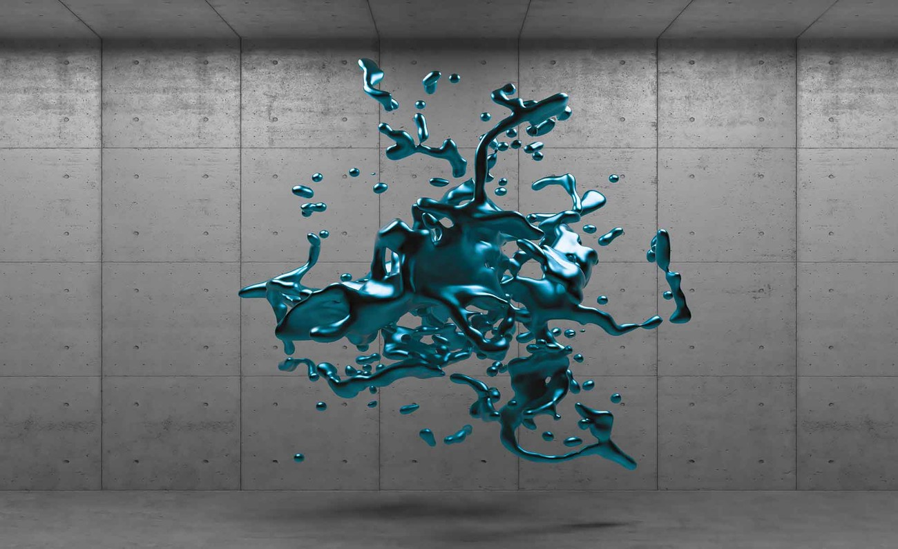 Abstract concrete paint design wall paper mural buy at for Abstract mural wallpaper