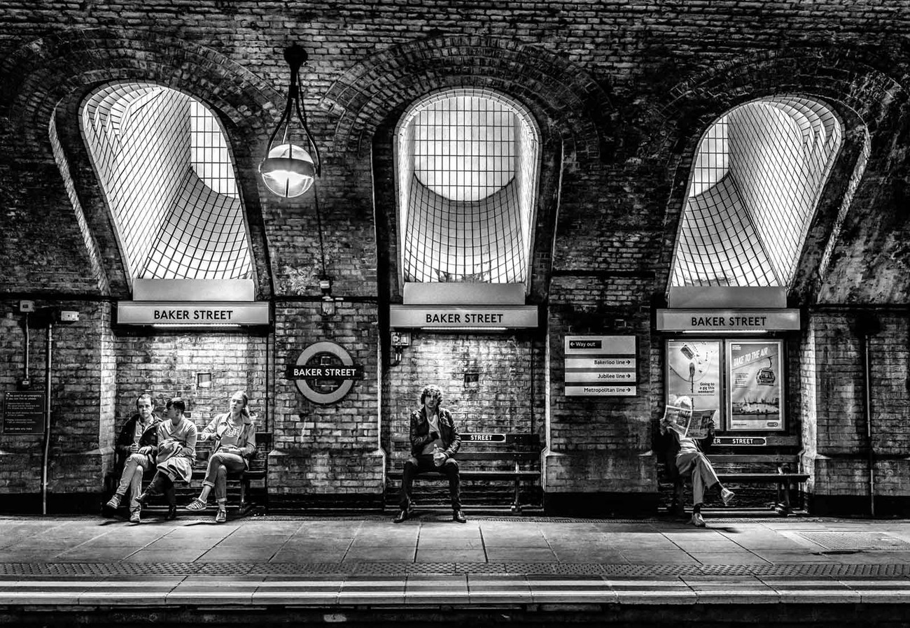 Baker Street Wall Paper Mural Buy At Europosters