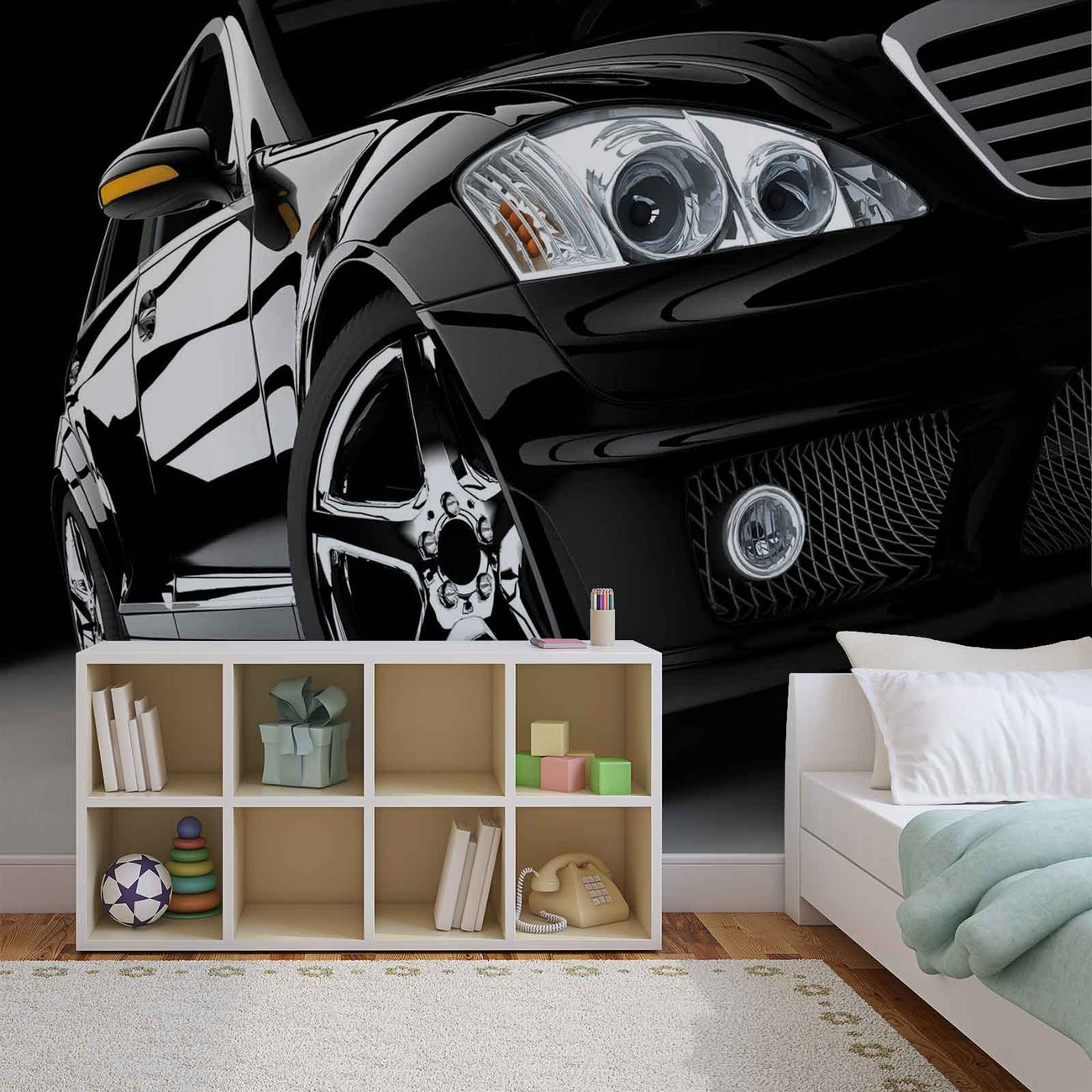 Car luxury wall paper mural buy at europosters for Cars movie wall mural