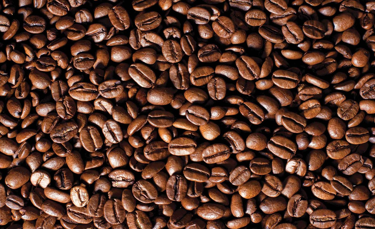 Coffee beans wall paper mural buy at europosters for Mural coffee