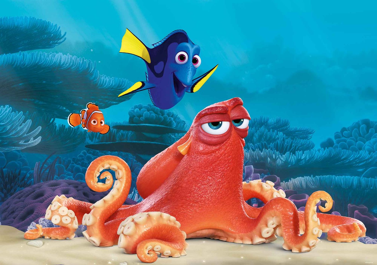 Disney Finding Nemo Dory Wall Paper Mural Buy at Abposterscom