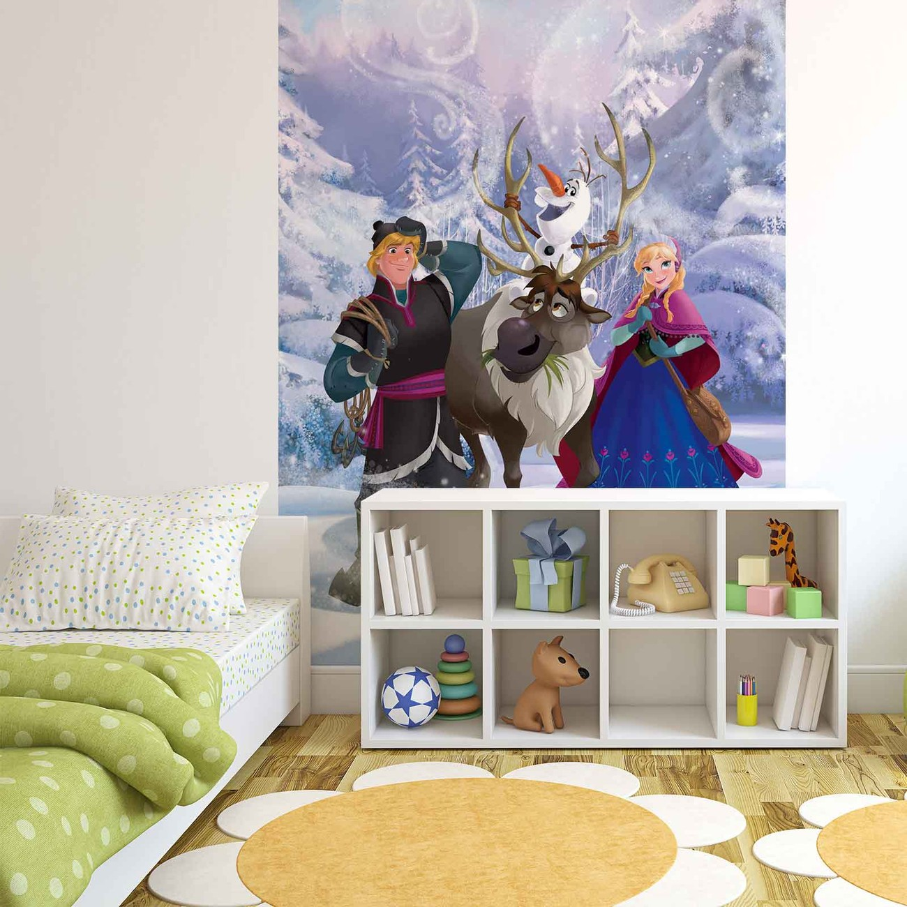 Disney frozen wall paper mural buy at europosters for Disney wall mural uk