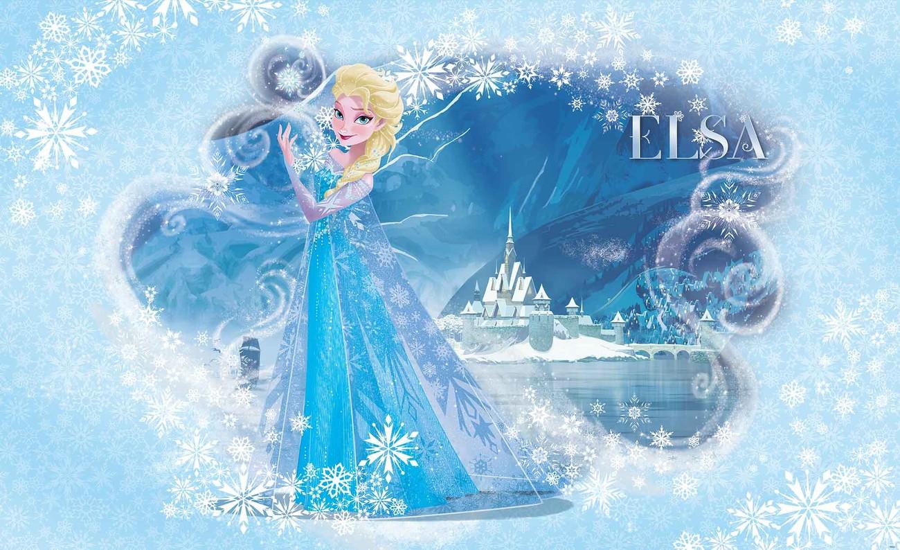 Disney Frozen Elsa Wall Paper Mural